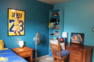GG after kid bedroom