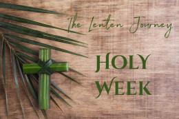 The Lenten Journey: Means of Transport