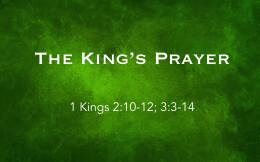 The King's Prayer
